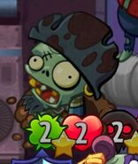 Giant Gray Swashbuckler Zombie is Here!