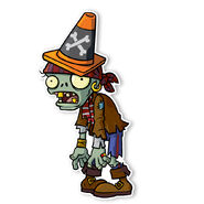 PVZ2 PS Pirate Conehead Zombie 85318.1435611504.1280.1280