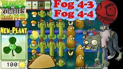 Plants vs. Zombies - New Blover and Taco - Fog 4-3 - Fog 4-4 - Classic PC HD (Ep