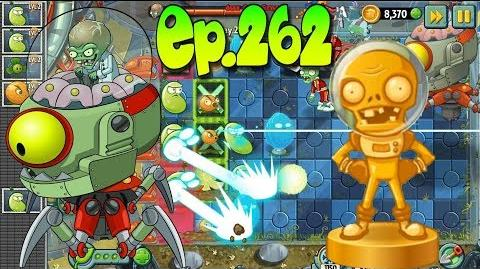 Plants vs. Zombies 2 Defeat Zombot Tomorrow-tron - ZomBoss - Far Future Day 25 (Ep