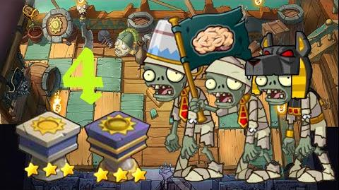 PvZ Online - Adventure Mode - Battle of the Nile 4