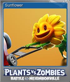 Steam BfN Sunflower Card Foil