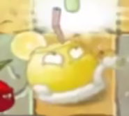 Acid lemon attacking