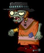 HD Poncho Zombie