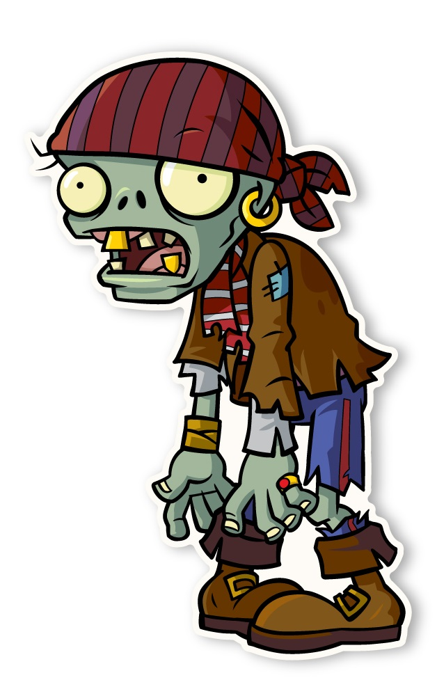 Zombi pirata wiki plants vs zombies fandom powered by for Cuartos decorados de plants vs zombies