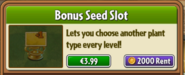 Seed Slot Rent
