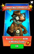 Imposter In Weekly Events Ads