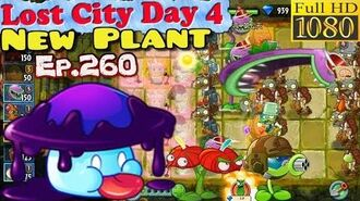 Plants vs. Zombies 2 (China) - New Plant Shadow-shroom - Lost City Day 4 (Ep.260)
