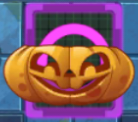 Pumpkin power tile