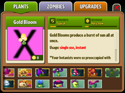 Unlocked gold bloom without hacks