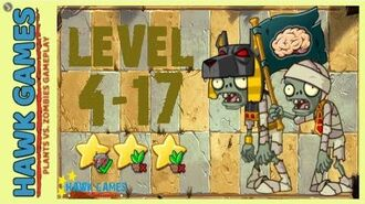 V1.0.81 Plants vs. Zombies All Stars - Ancient Egypt Level 4-17 4K 60FPS