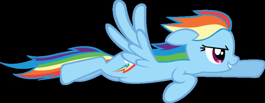 Image Flying Rainbow Dash By Segfaultd D5ngocu Png