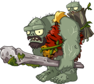 Zombie dino gargantuar