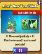 Aloe's New Year Pinata