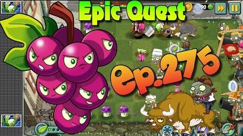 Plants vs. Zombies 2 - GRAPESHOT - Epic Quest Premium Seeds (Ep