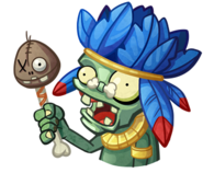 Pvzheroes tribal zombie