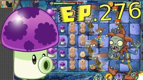 Plants vs. Zombies 2 Fume-shroom, Puff-shroom and Pea-nut - Dark Ages Night 13 (Ep