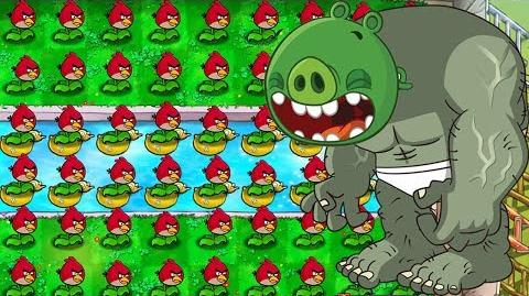 Angry Birds vs Zombies - Plants vs. Zombies Mod Angry Birds!