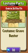Grave Buster Top Hat in Store