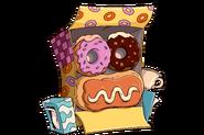Tombstone HeadstoneTile RARE DonutFace