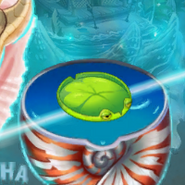 Lily Pad on the World Map (Chinese version)