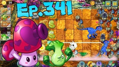 Plants vs. Zombies 2 Perfume-shroom, Laser Bean - Jurassic Marsh Day 10 (Ep