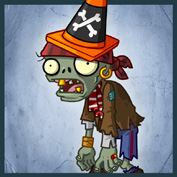 PvZ2 Conehead Pirate