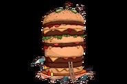 Tombstone HeadstoneTile LEGEND Burger