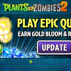 Quảng cáo của Gold Bloom trong game