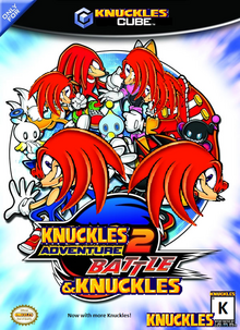 Knuckles adventure 2 battle and Knuckles