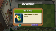Wasabi Whip's costume