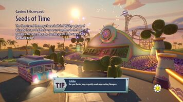 Seeds of Time loading screen