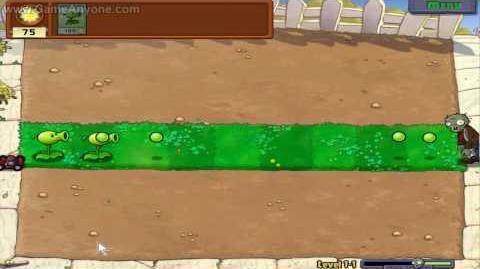 Plants Vs. Zombies HD - Level 1-1