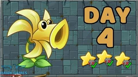 Plants vs Zombies 2 China - Steam Ages Day 4