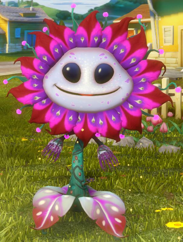 Alien Flower   Plants vs  Zombies Wiki   FANDOM powered by Wikia