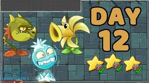 Plants vs Zombies 2 China - Steam Ages Day 12