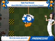 Progressive Zombie Piñata First Degrade