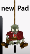 Suit bungee zombie