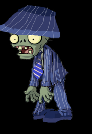 Gangster Zombie With Hat