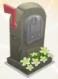 Gravestone mailbox