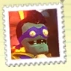 Super duper brainz stamp