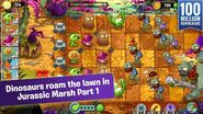 Jurassic Marsh Part 1 Ad from App Store