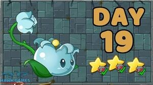 Plants vs Zombies 2 China - Steam Ages Day 19 Lily of Alchemy 《植物大战僵尸2》- 蒸汽时代 19天-0