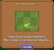PurchasingLilyPadCostume