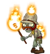 HD Torchlight Zombie