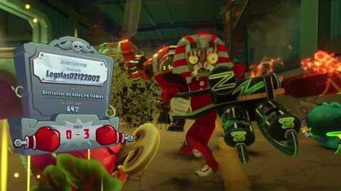 PARTIDA CON CARNIVORA DE FUEGO 30 bajas Plants vs Zombies GW2-0