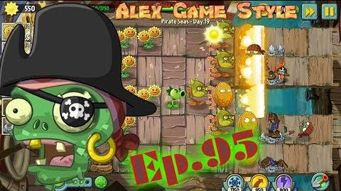 Plants vs. Zombies 2 Produce at least 1750 sun - Pirate Seas Day 19 (Ep