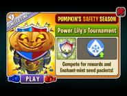 Pumpkin's Safety Season - Power Lily's Tournament