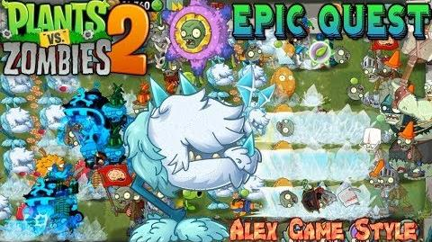 Plants vs. Zombies 2 Epic Quest - Premium Seeds Cold Snapdragon Premium Plant Quest (Ep