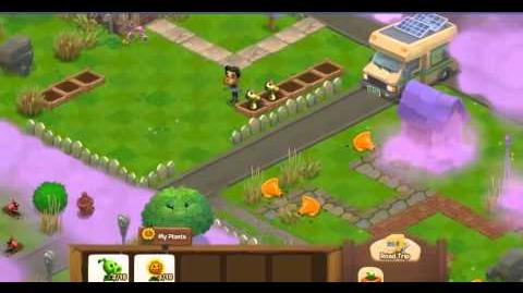 Plants vs. Zombies Adventures Facebook Game Part 2